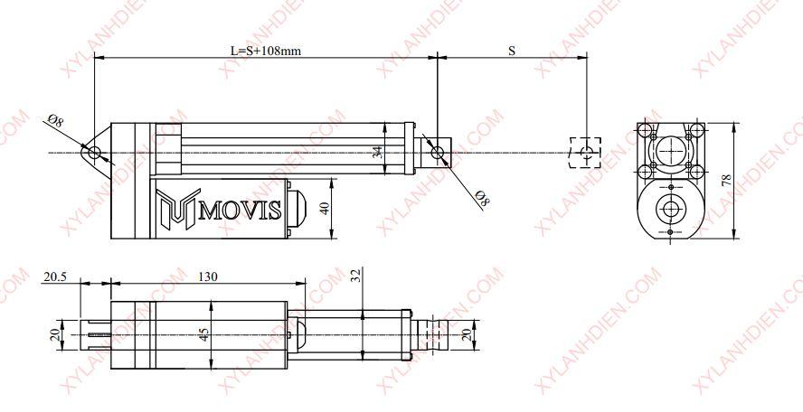 xy lanh điệnMovis – LH chất lượng, giá rẻ tại Movis Việt Nam