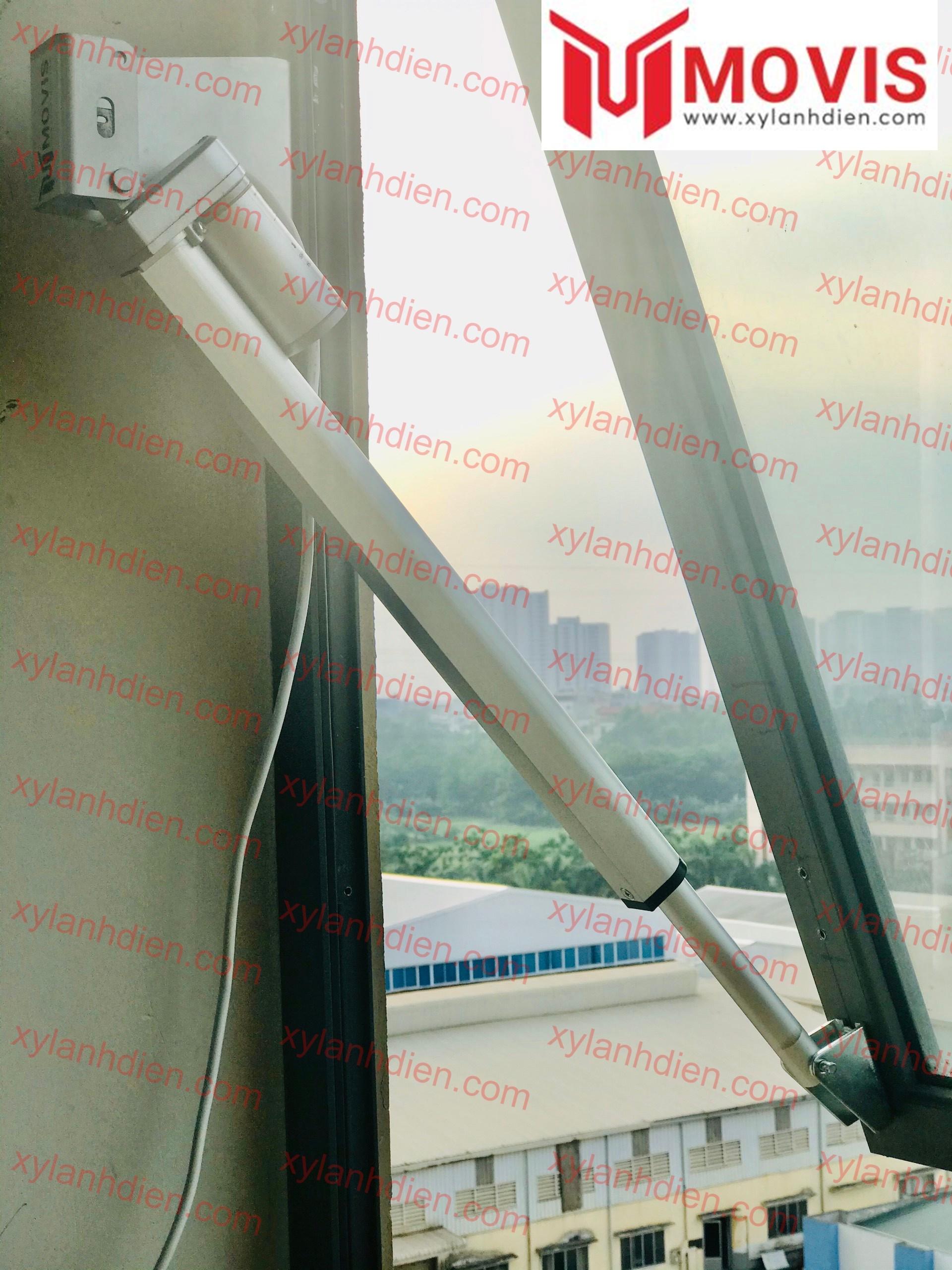 Cửa sổ tự động sử dụng xy lanh điện