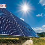 Xy lanh điện xoay hướng dàn pin mặt trời với nhiều tiện ích